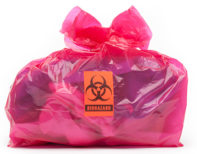Biohazard Clean Up Bag