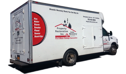 Property Restoration Truck
